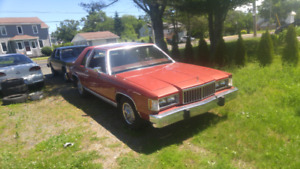 1984 mercury grand marquis ls coupe