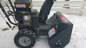 craftsman Briggs&stratton snow blower trade or 650.00