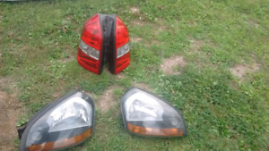 Head light and tail light