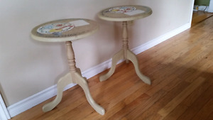 Side tables from the Bombay Co.
