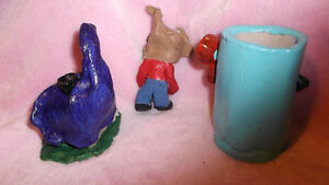 Handmade Clay Fairy House and Gnome London Ontario image 2