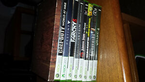 Selling Xbox 360, ps3 and One items.