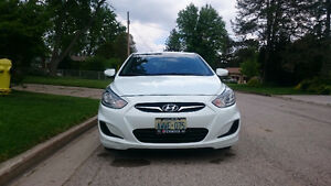 2013 Hyundai Accent GL, warranty.