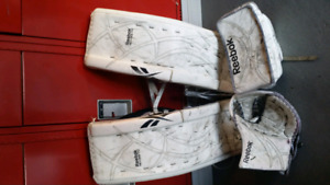 Reebok Revoke Pro Zone Goalie Set 33 +3 and Chest protector