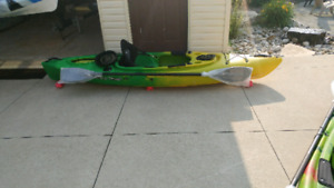 "Your friends will be ""green with envy!""- Brand new kayaks!"