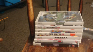 WII GAMES FOR SALE $20 OBO FOR ALL