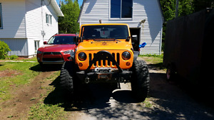Supercharged Jeep Wrangler Rubicon