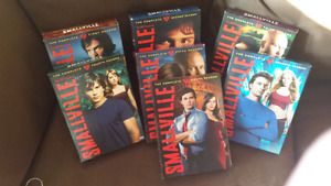 Smallville seasons 1-5, 7,8 and 9