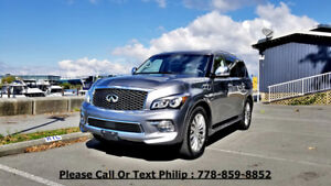 2015 Infiniti QX80 Technology SUV, Crossover