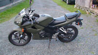 2007 Honda CBR 125cc (Truro and YOU HAVE TO PHONE)902-986-0310