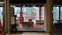 Glass Wall PARTITIONS for interior and exterior applications