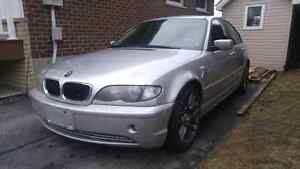 """2002 BMW 320i """"as is""""  need driveway space!"""