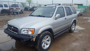 2004 PATHFINDER .. JUST IN FOR PARTS AT PIC N SAVE! WELLAND