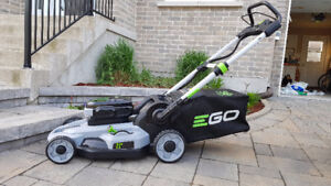 Tondeuse Mower Ego 21'' 56V battery à batterie condition AAA+