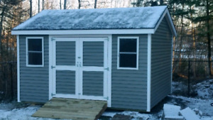 Fredericton's Qualitly Built Storage Sheds