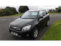 TOYOTA RAV4 2.2 XT-R D-4D,2008,ALLOYS,AIR CON,SUNROOF,FULL SERVICE HISTORY