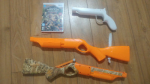Remington Superslam Hunting Africa (Wii) & 3 accesories