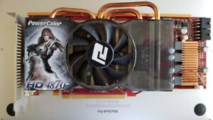 Powercolor Radeon HD 4870 1Gb $30