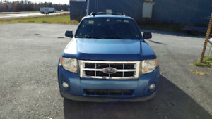 2009 Ford Escape ,fwd Recent inspection