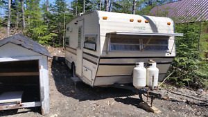 17 foot camper for sale great for hunting or put by a lake