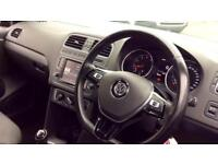 2015 Volkswagen Polo 1.0 SE 5dr Manual Petrol Hatchback