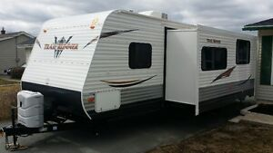 2013 Travel Trailer with large slide and bunk room