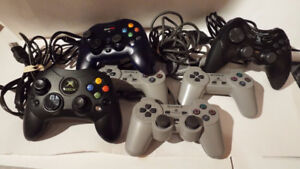 6 ASSORTED CONTROLLERS