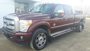 Certified 2015 Ford F-350 Platinum Pickup Truck,PST Paid