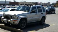 well maintained 2002 Jeep Liberty renagade SUV, Crossover