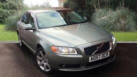 Volvo S80 2.4 ( 185bhp ) Geartronic 2008MY D5 SE Sport WILLOW GREEN PEARL