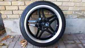 "20"" DIP DAGGER RIMS with tires London Ontario image 1"