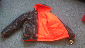 Brand new Hunting jacket reversible to orange