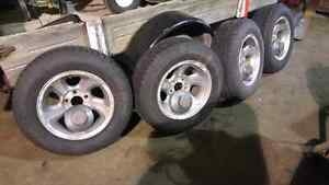 S10 first and second generation rims and snow tires. London Ontario image 6