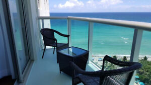 $750/sem.  OCEAN FRONT Condos - TIDES on Hollywood Beach