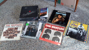 COLLECTION OF  BEATLES RECORDS  & COLLECTIBLES ONLY $68.00