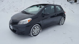 2014 Toyota Yaris Hatchback 13000 or Lease Takover 207.33 Montly