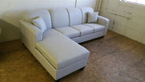 Brand New Canadian Made Condo Perfect Sectional Sofa