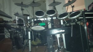 DRUM SET FOR SALE OR EXCHANGE FOR WHAT EVER YOU HAVE !!!