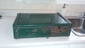 Vintage Coleman Stove and Cooler