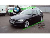 2005 BMW 325 2.5i SE BLACK PETROL CAR