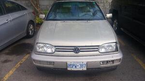 1998 Volkswagen Cabrio Convertible