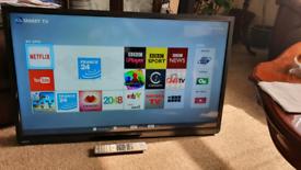 "Toshiba 40"" inch smart full HD wifi tv"