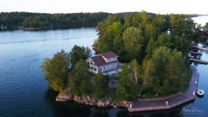 Cottage on a Private Island for Sale 1000 Islands