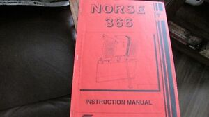norse logging winch operators manual