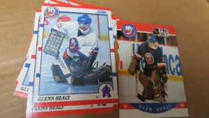 Glenn Healy NHL goalie rookie cards(7)