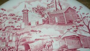 "VINTAGE ""JOHNSON BRO'S PENNSYLVANIA GERMAN FOLKLORE"" PLATE Kitchener / Waterloo Kitchener Area image 7"