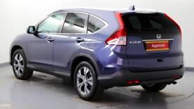 2015 Honda CR-V 2.0 i-VTEC SR Petrol blue Manual