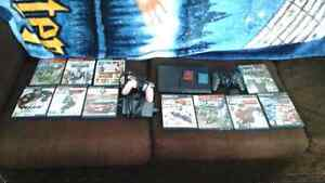 Play Station  2  system  with  11 games