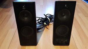 Logitech X-140 computer speakers
