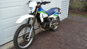 1985 kawasaki klr250 needs engine work